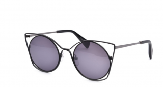 Yohji Yamamoto Black/Grey 7007 002 - Cat Eye sunglasses