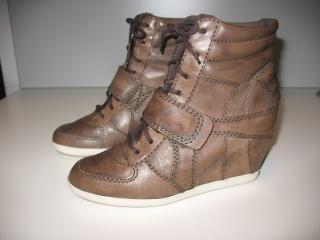 Ash leather sneakers