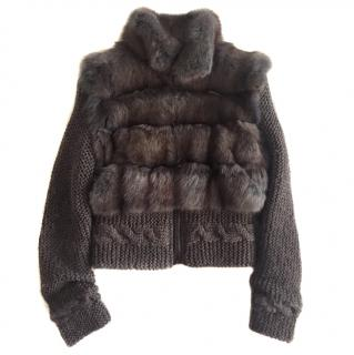 Pajaro Sable Knit Jacket