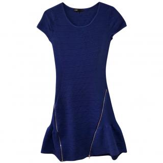 Maje blue bandage dress