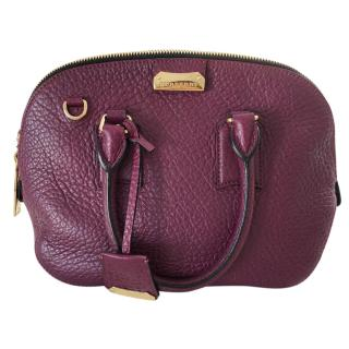 Burberry Heritage Grain Small Orchard Bowling Bag
