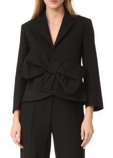 Victoria Victoria Beckham Tux Bow Wool-Blend Jacket