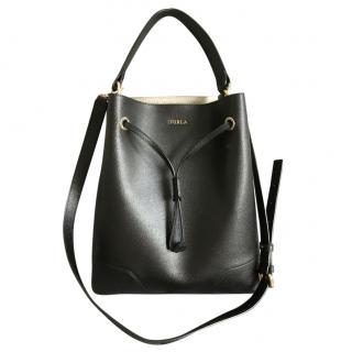 Furla Black Bucket Bag