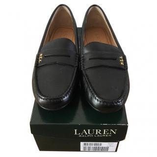Lauren Ralph Lauren leather loafers