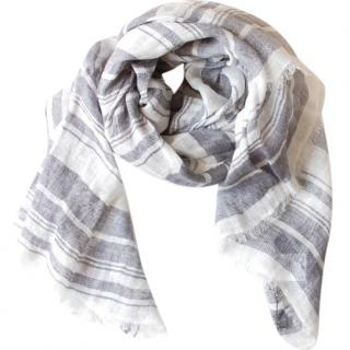 Max Mara Knit Linen Shawl