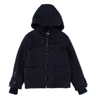 Stella McCartney Kids Black Wool Coat