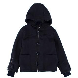 Stella McCartney Kids Black Wool Coat
