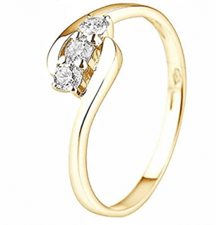 &You Trilogy Diamond Ring