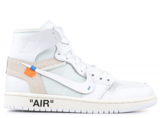 Off White x Nike Virgil Abloh Air Jordan 1