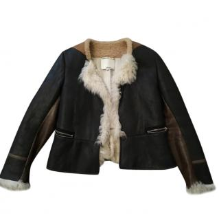 Phillip Lim Suede & Shearling Jacket