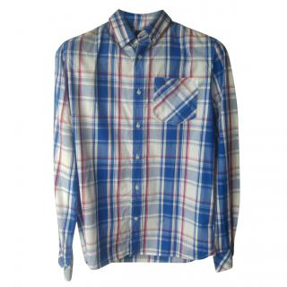 Musto Men's Blue Check Shirt