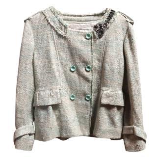 Ermanno Scervino Embroidered Tweed Jacket