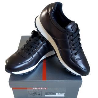 Prada black classic trainers
