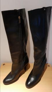 Kurt Geiger Black Knee High Boots
