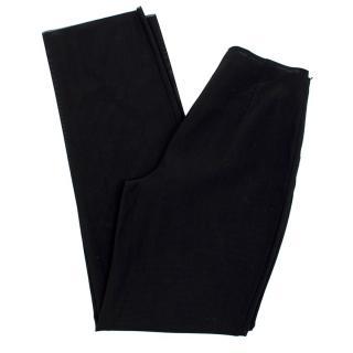 Philosophy di Alberta Ferretti Sheer Black Trousers