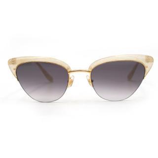 Sunday Somewhere Pixie Gold Cat Eye Sunglasses