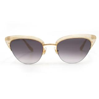Sunday Somewhere Pixie Gold Cat Eye Sunglasses