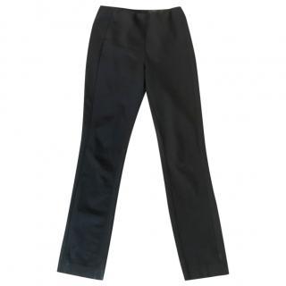 Rag & Bone Black Straight Leg Trousers