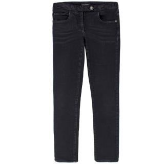 Chanel Black Skinny Jeans