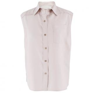 Chloe Silk Sleeveless Blouse