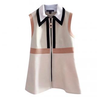 Louis Vuitton runway colourblock vest