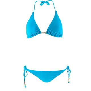 Echo Blue Triangle Bikini