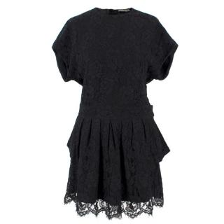 Balenciaga Lace Little Black Dress