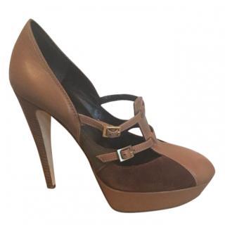 Philosophy Di Alberta Ferretti Leather & Suede Sandalss