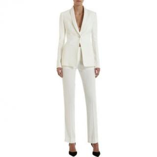 The Row Tailored Off White Suit