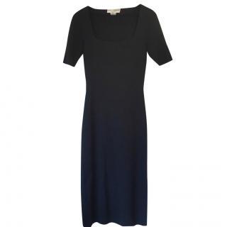 Dolce & Gabbana Black Wool Dress