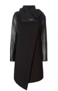 Helmut Lang Funnel Neck Coat