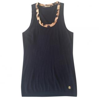 Roberto Cavalli knit vest top