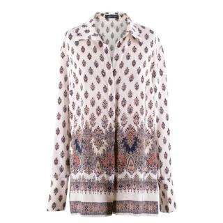 Magda Butrym Silk Patterned Shirt