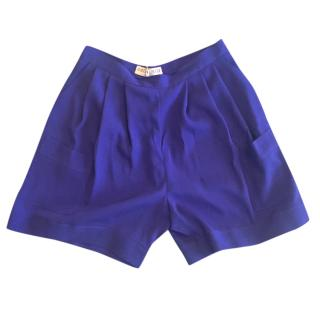 Emilio Pucci silk shorts