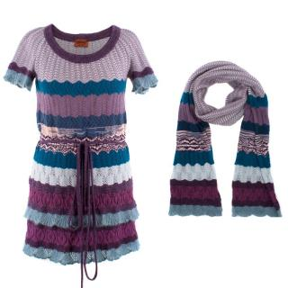 Missoni Mohair & Wool-blend Knitted Three Piece Set