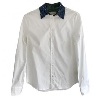 Paul Smith White & Navy Shirt