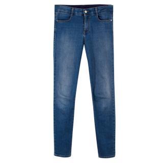 Stella McCartney Mid Blue High-waist Skinny Jeans