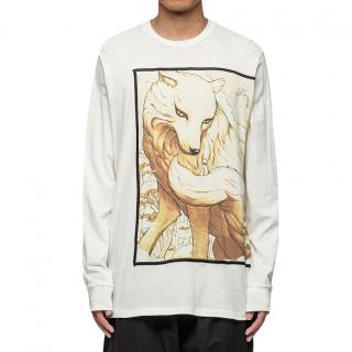 3.1 Phillip Lim Men's Long Sleeve Printed Pullover