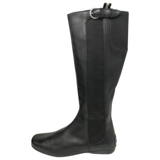 Bally classic long black boots