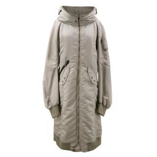 LGB Oversized Collared Long Coat