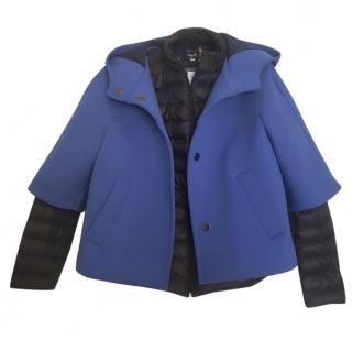 Marella hooded cape jacket