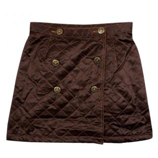 Moschino Quilted Mini Skirt