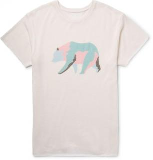The Elder Statesman cashmere & silk blend T Shirt