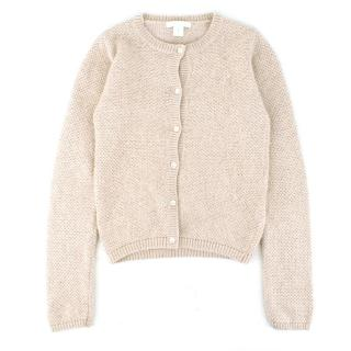 Marie Chantal Beige Cardigan