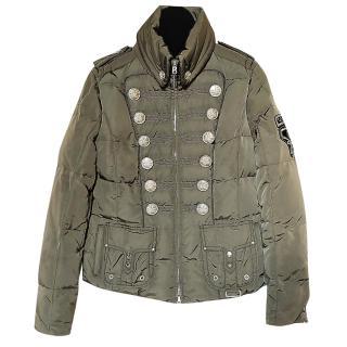 Bogner khaki quilted ski jacket