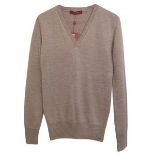 Max Mara mohair knit jumper