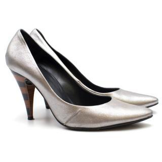 Georgina Goodman Silver Heels