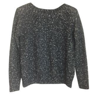 The Kooples black woolmix jumper