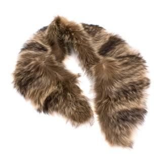Bespoke Raccoon Fur Scarf
