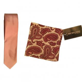 Paul Smith silk tie and Michelsons silk square.